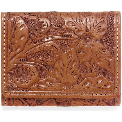 Brighton - Las Flores Men's Tri-Fold Wallet