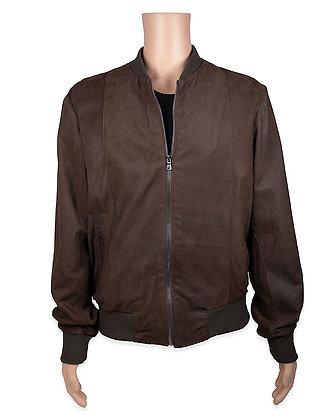 Barone -   Mens Italian Baseball Style Jacket