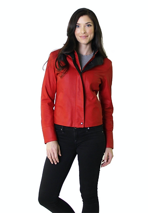 Remy Leather - Ladies Double Collar Jacket