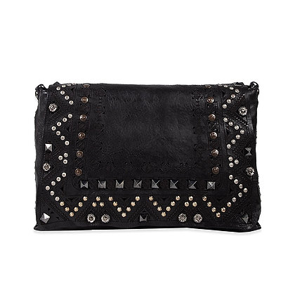 Campomaggi - Crossbody with Laser & Studs