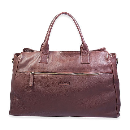Bruno Rossi - Italian Calfskin Large Travel Duffel Bag
