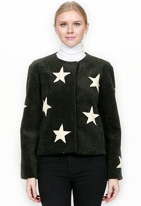 Belle Fare - Shearling Star Jacket
