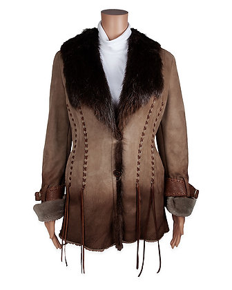 Hoss Couture - Merino Shearling w Beaver Jkt