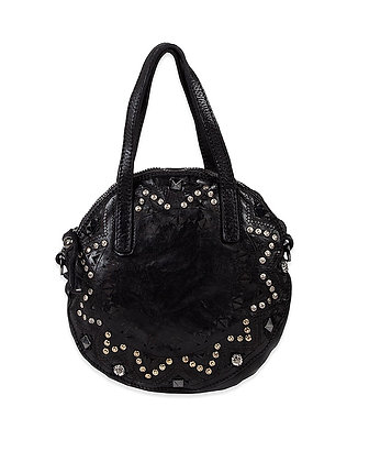 Campomaggi - Rounded Shopper with Laser & Studs