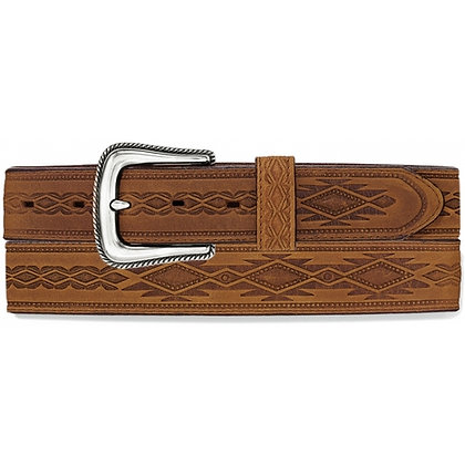 Brighton - Navajo Blanket Tooled Belt