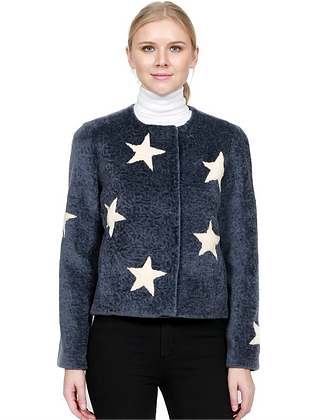 Belle Fare - Shearling Star Jacket