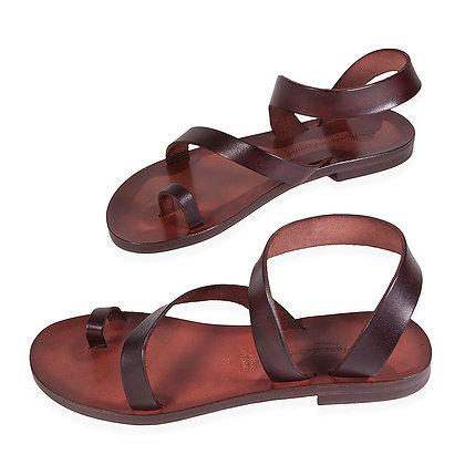 Italian Ankle & Toe Loop Sandal
