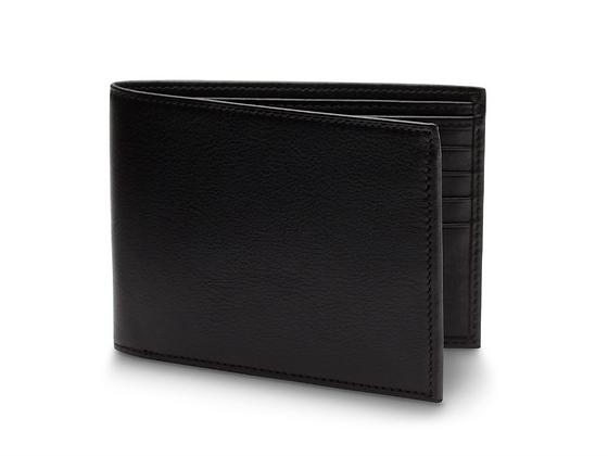 Bosca - Men's Bifold Wallet in Nappa Vitello Leather