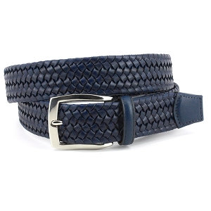 Torino - Italian Woven Stretch Leather Belt