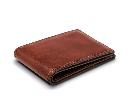 Bosca - Small Bifold Wallet in Dolce Leather