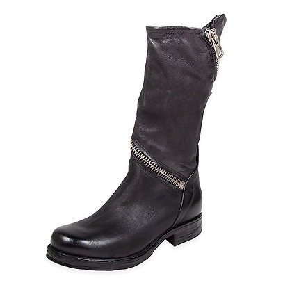AS98 - The Siggs Wrap Zipper Tall Boot
