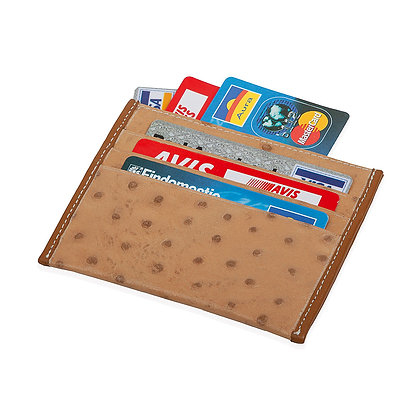Antonini - Womens' Weekend Wallet with Embossed Ostrich