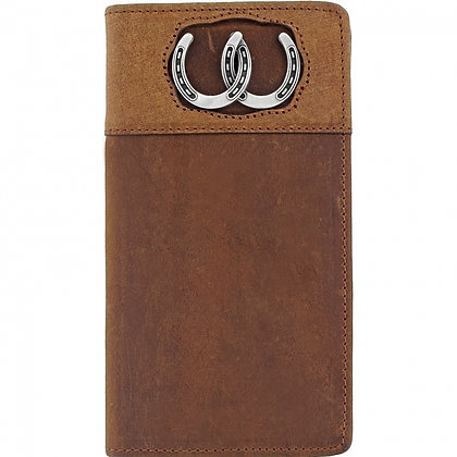 Brighton - Double Luck Men's Checkbook Wallet