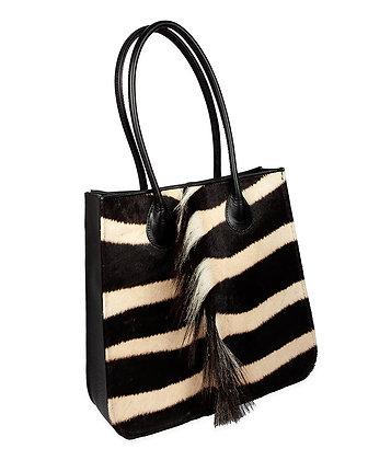 Kulu - Natural Zebra Shopper with Mane