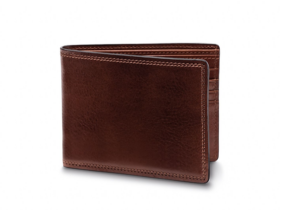 Bosca - 8 Pocket Deluxe Executive Wallet in Dolce Leather