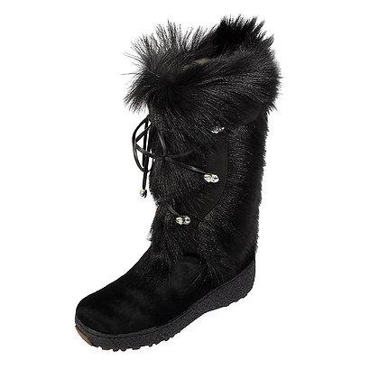 Regina -The Benina Goat and Calfskin Boot