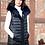 Thumbnail: Belle Fare - Reversible Lamb Vest with Fox Trim