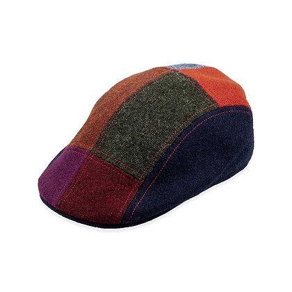 Portaluri Caps - Harris Tweed-Cut and Sewn in Italy