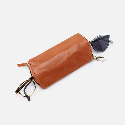 Hobo Go Collection - Spark 2 Pair Eyeglass Case Vintage Hide