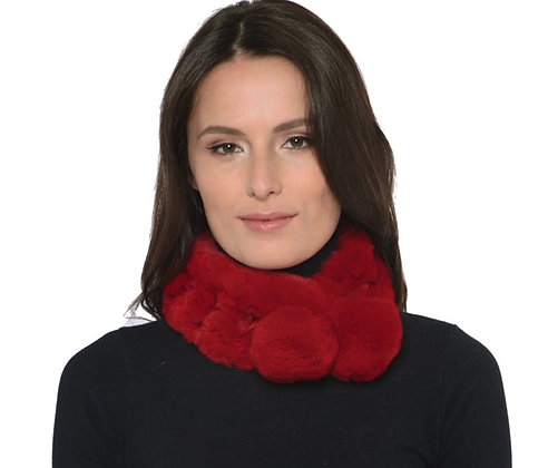 Belle Fare -  Rex Rabbit Ladder Scarf