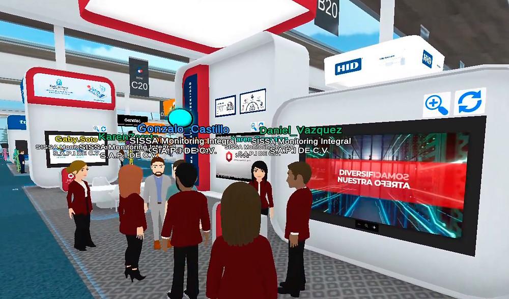 Staff de SISSA en el Congreso Virtual ALAS 360