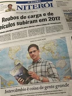 O Globo XLR8 Capa
