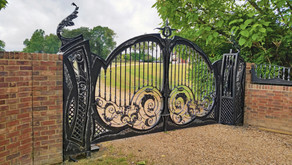Wrought Iron Fortress: The 6 Biggest Benefits of Metal Driveway Gates