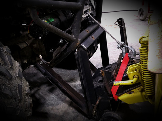 ATV Snowplow Bracket