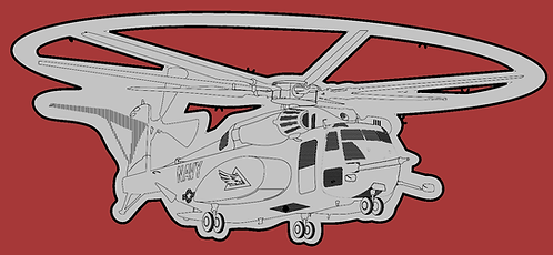 MH-53E Helo Hitch