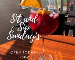 Sit and Sip Sunday's