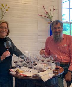 Friends that love wine!