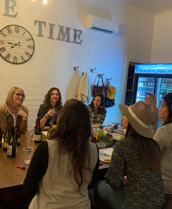 Private wine tasting party