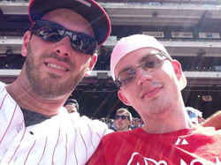 Friends at the Phillies Game