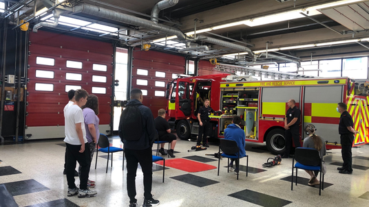 Cross-Curricular Trip to the Fire and Rescue Service