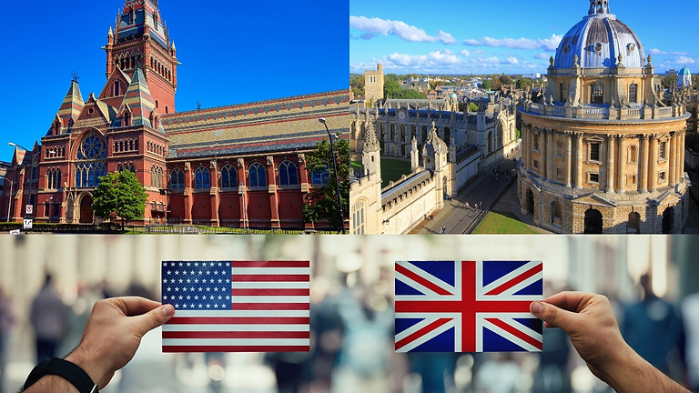 UK vs US Universities