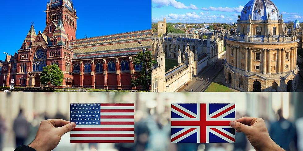 UK vs US Universities