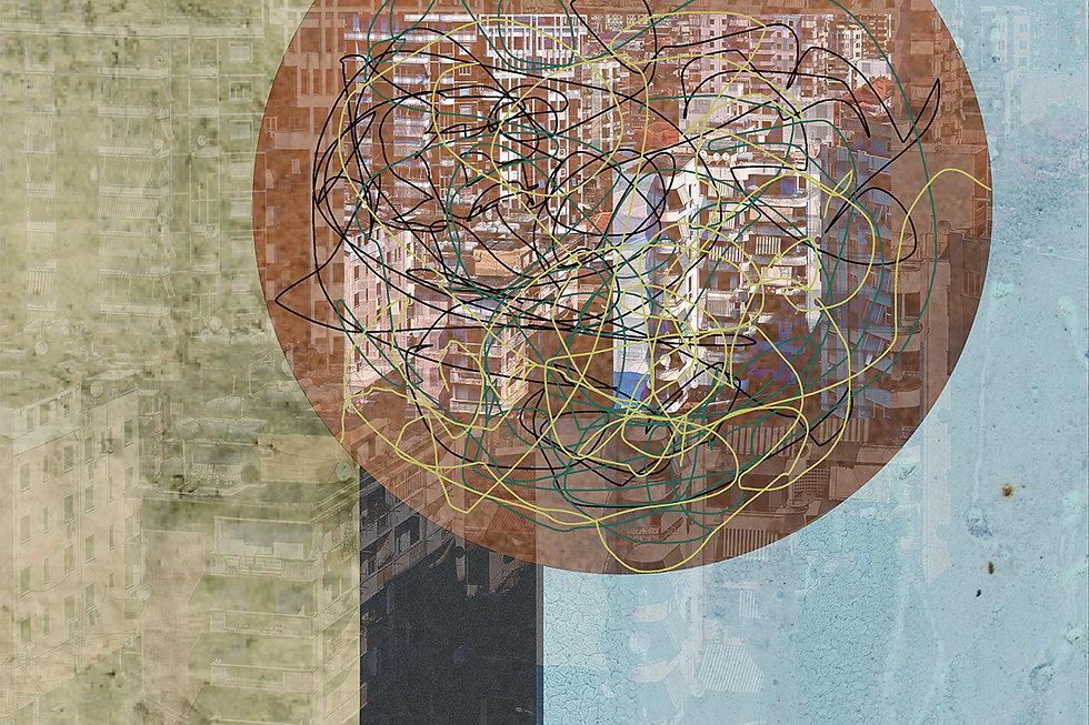 digital illustration, digital art, dystopian future