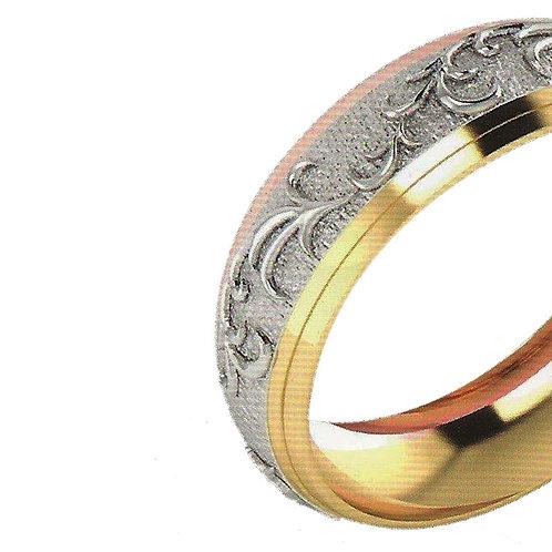 Argollas Oro Florentino 14k 250L Luxury