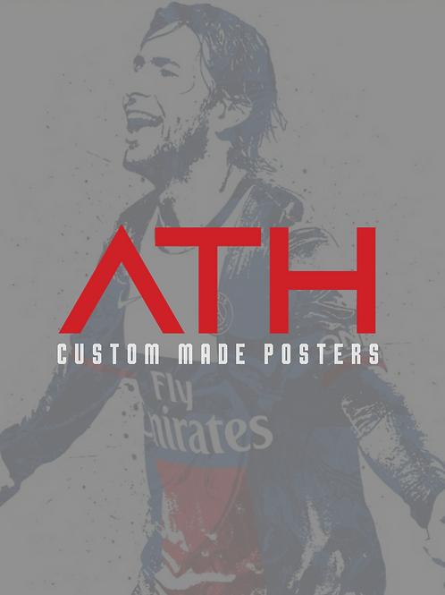 8 x 10 Custom Poster