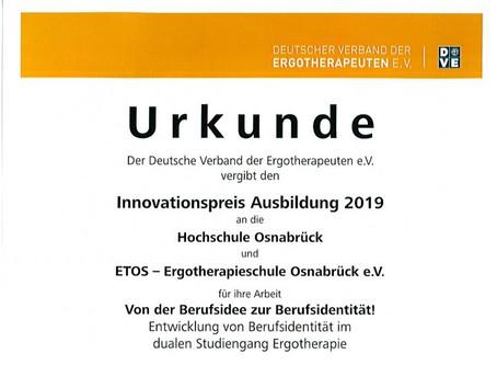 Innovationspreis Ausbildung 2019