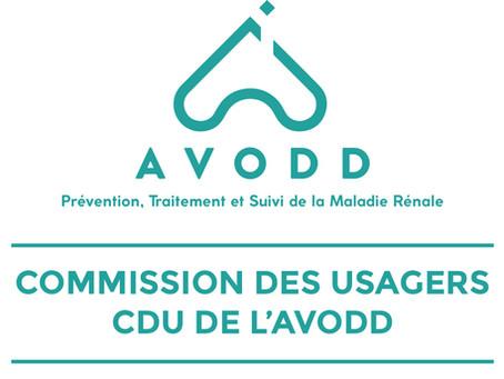 Journées d'information de la Commission des Usagers CUD de l'AVODD