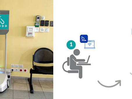 Innovation | un robot au service des patients de notre unité de Brignoles
