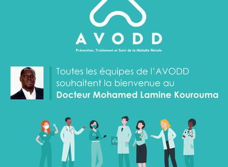 Le Docteur Kourouma rejoint les équipes de l'AVODD