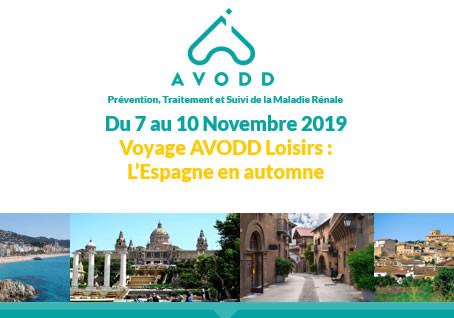 Voyage AVODD Loisirs | l'Espagne en Automne