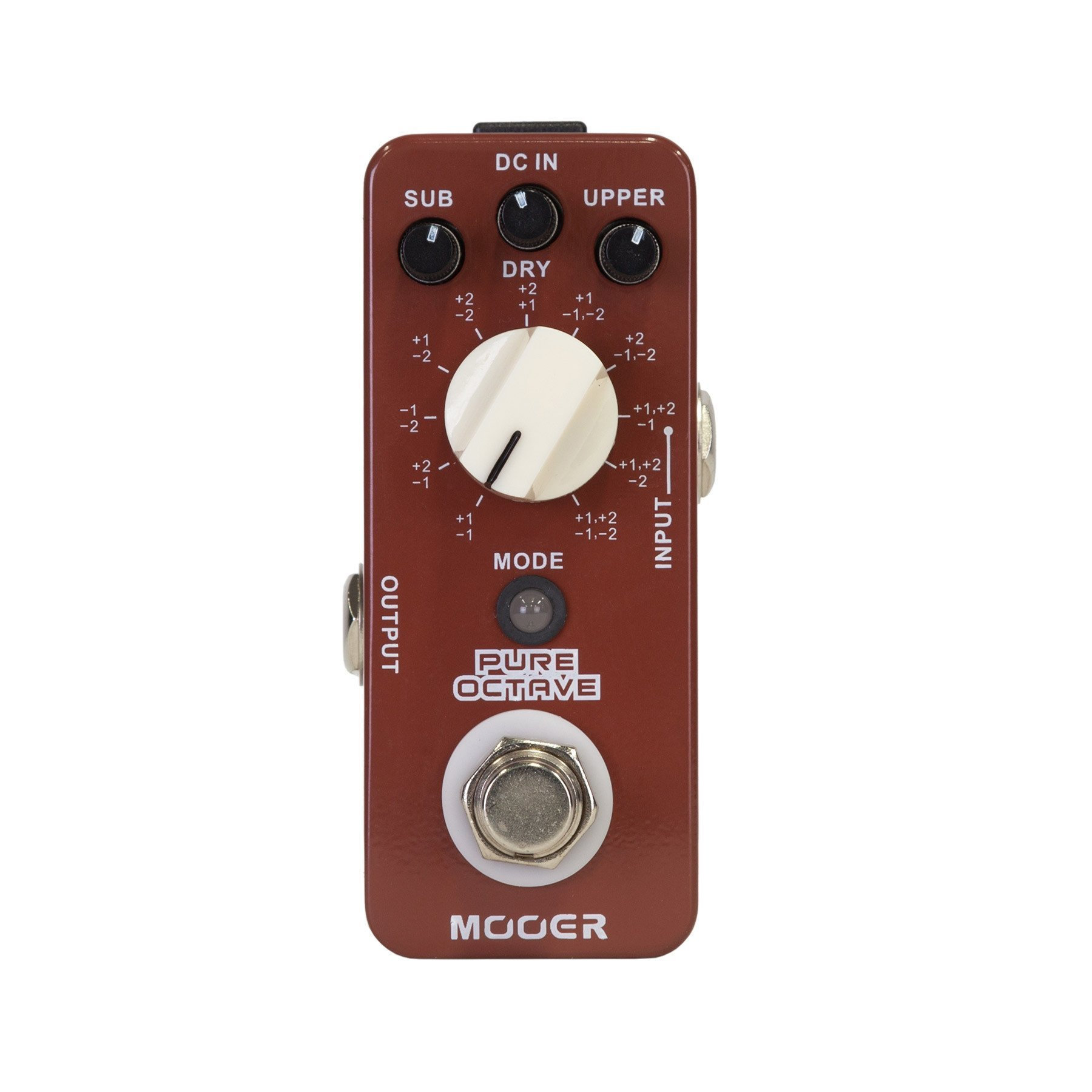 mooer pure octave polyphonic octave micro guitar effects pedal kew music garage. Black Bedroom Furniture Sets. Home Design Ideas