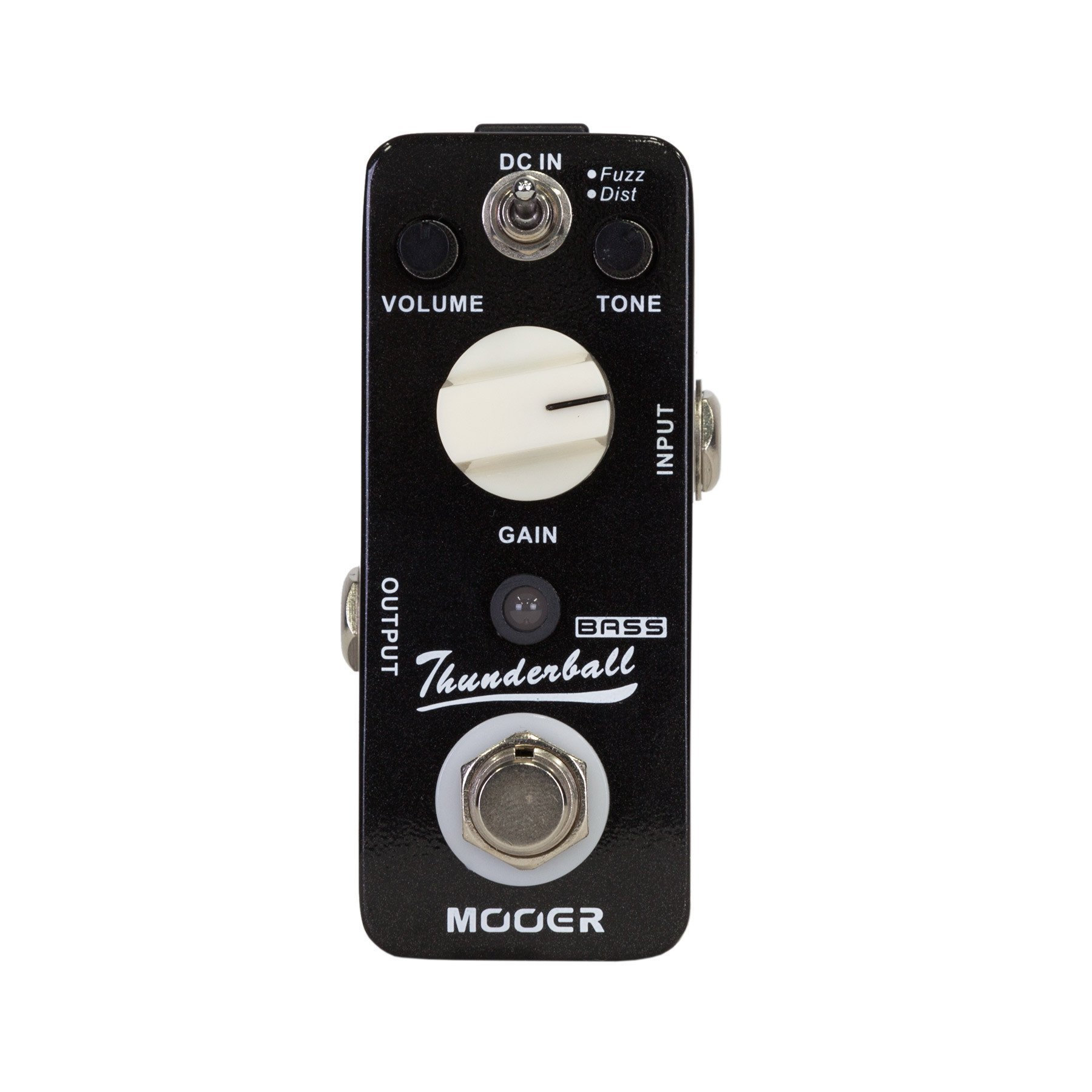 mooer thunderball bass fuzz distortion micro guitar effects pedal kew music garage. Black Bedroom Furniture Sets. Home Design Ideas