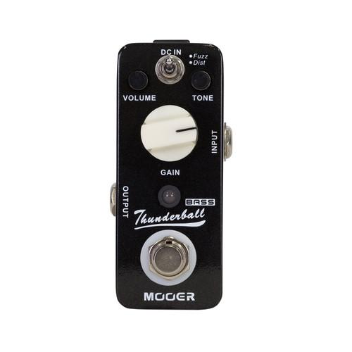 mooer thunderball bass fuzz distortion micro guitar effects pedal kew music garage. Black Bedroom Furniture Sets. Home Design Ideas