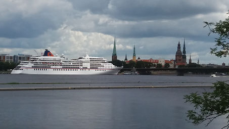 The First Time in Riga