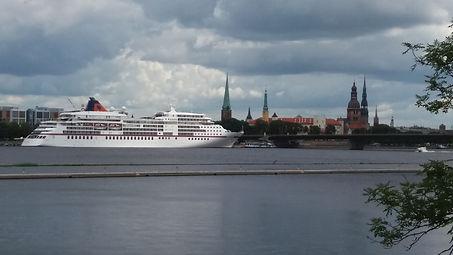 La primera vez en Riga