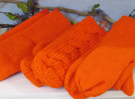 Color of the Month Bright Orange